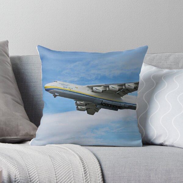 Antonov An-225 Mriya Throw Pillow