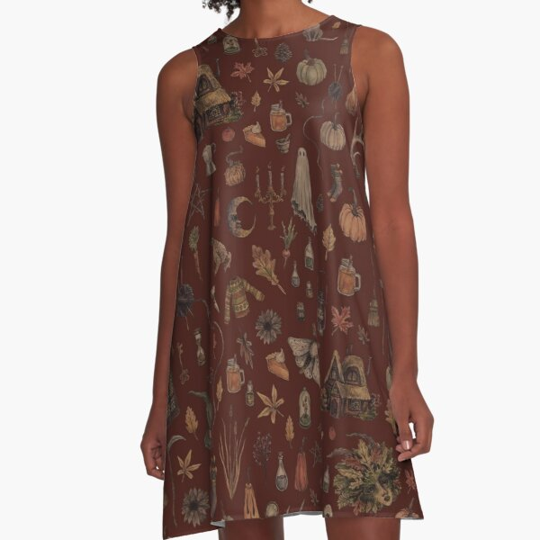 Cozy Crone A-Line Dress
