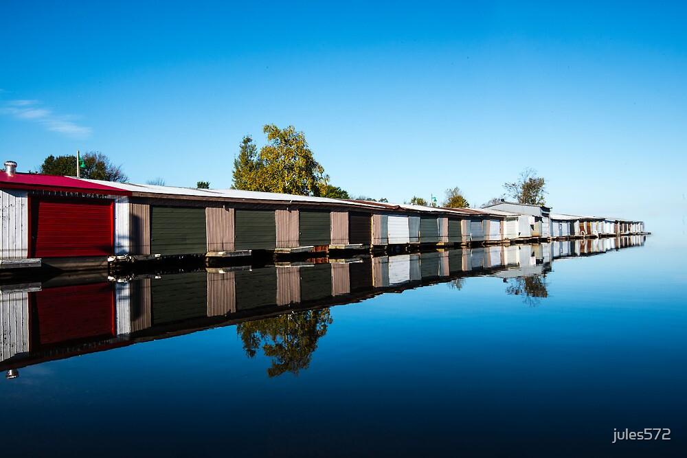 Muskoka Boathouses by jules572