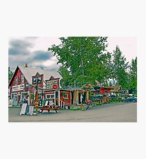 Nagley's Store in Talkeetna Alaska Photographic Print