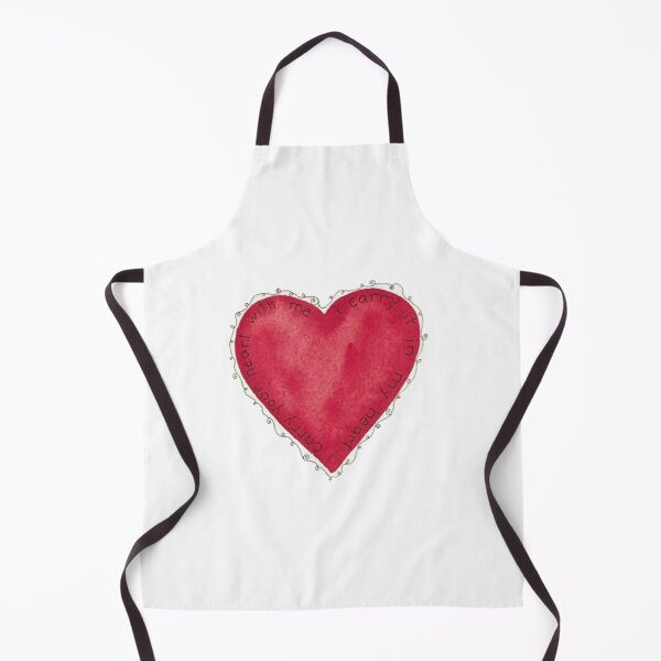 i carry your heart with me Apron