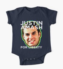 Justin Amash Michicagn Republican Libertarian One Piece - Short Sleeve