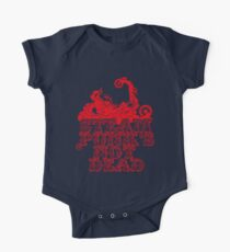 steampunk's not dead (red) Kids Clothes