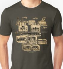 Amnesia: A Machine For Pigs full map  T-Shirt