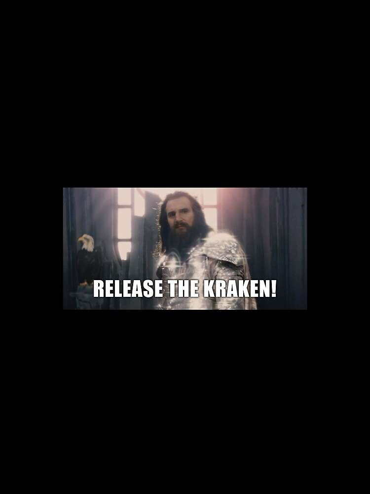 """Release the Kraken funny meme"" T-shirt by shirt-meme ..."