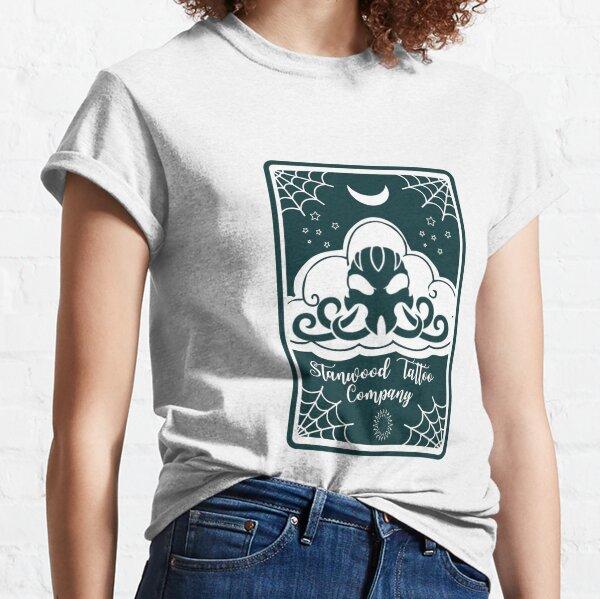 STC logo Tarot Card teal Classic T-Shirt