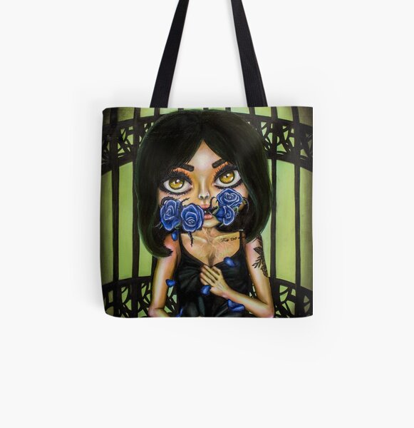 Catharsis in blue All Over Print Tote Bag