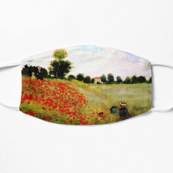 Poppy Field - Claude Monet - 1873 Flat Mask
