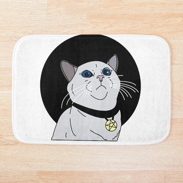 Witchy Cat Bath Mat