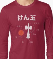 Kendama Anatomy Long Sleeve T-Shirt