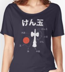 Kendama Anatomy Women's Relaxed Fit T-Shirt