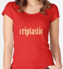 Criptastic Women's Fitted Scoop T-Shirt