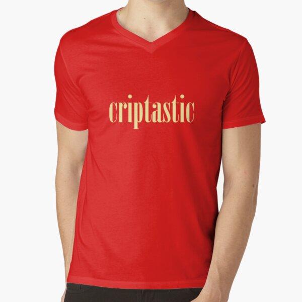 Criptastic V-Neck T-Shirt