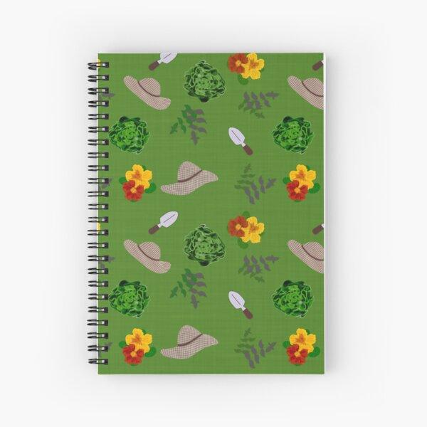 lush garden - gardeners paradise Spiral Notebook