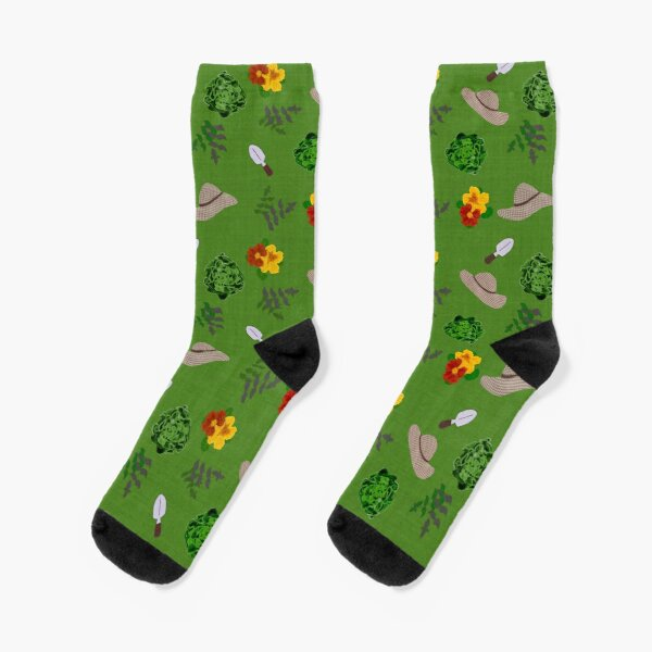 lush garden - gardeners paradise Socks