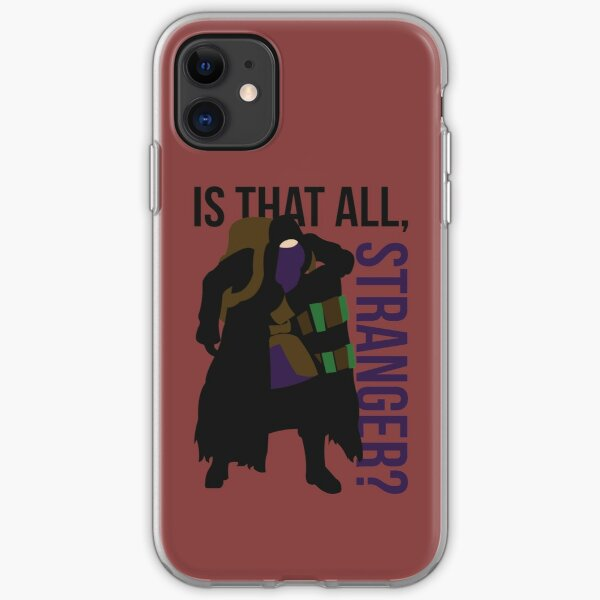 Is that all, stranger? iPhone Soft Case