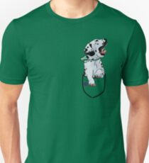 Pocket Puppiez - Dalmatian Unisex T-Shirt