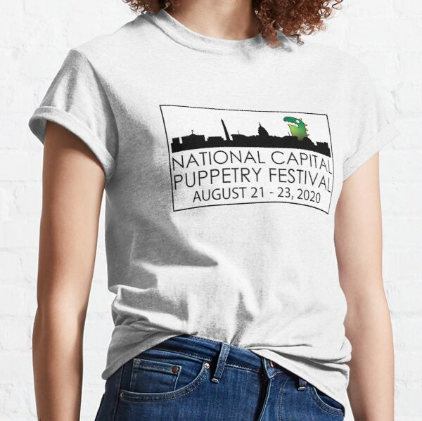 LOGO: National Capital Puppetry Festival  Classic T-Shirt