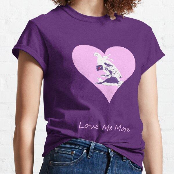 Aime-moi Plus T-shirt classique
