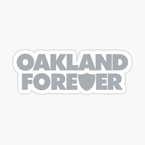Oakland Forever - Silver Sticker