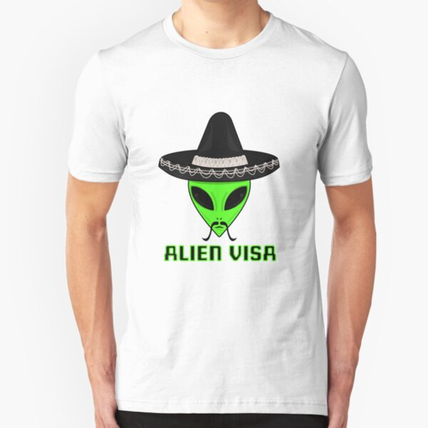 Intergalactic Immigration and Naturalization Service Slim Fit T-Shirt