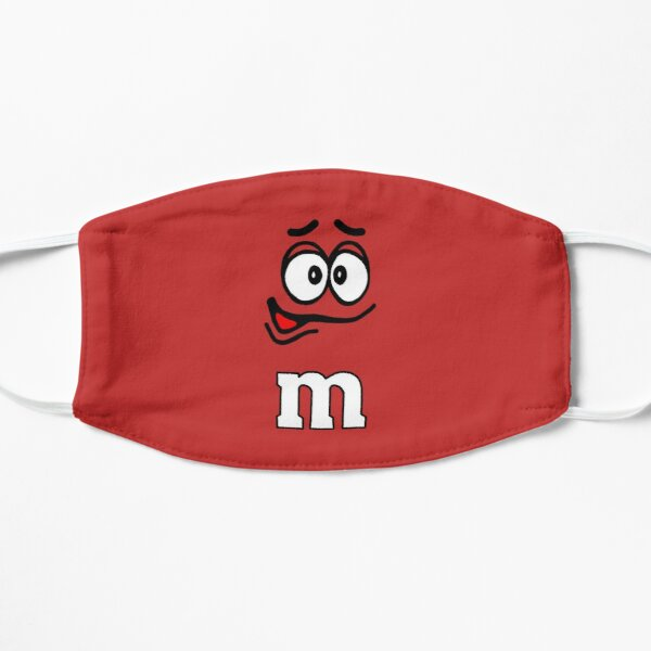 Classic Red M&M Candy Face Mask Mask