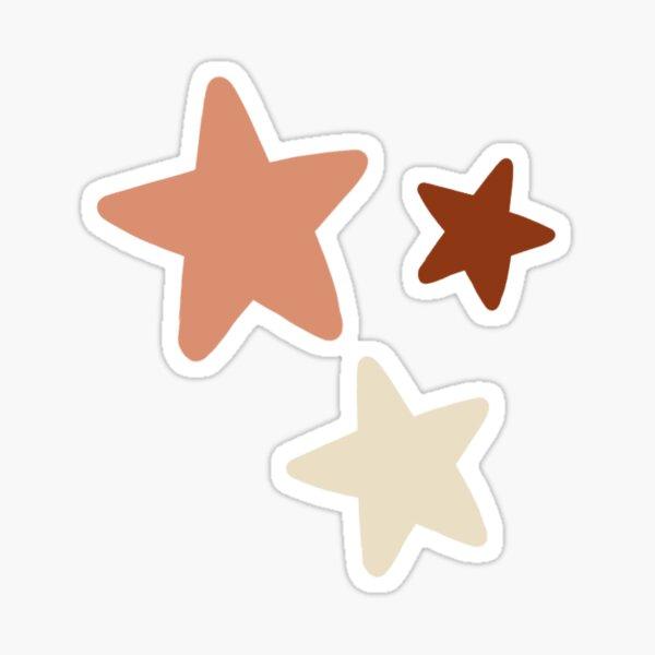 Boho Vibes Stars Sticker