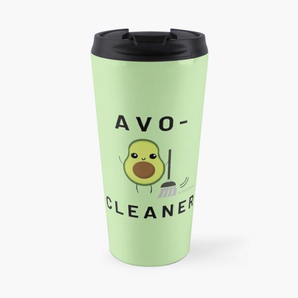 Avo Cleaner, Avocado Housekeeping Humor, Funny Cleaning Saying Travel Mug