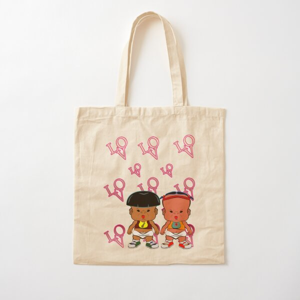 PBTEEZ RB0192 Love 52 Cotton Tote Bag