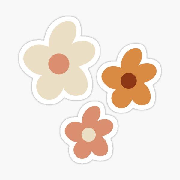 boho vibes flowers Sticker