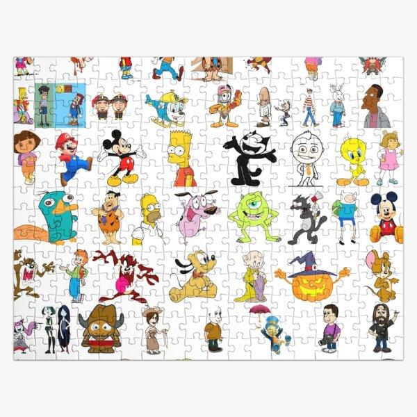 Cartoon Characters Jigsaw Puzzle