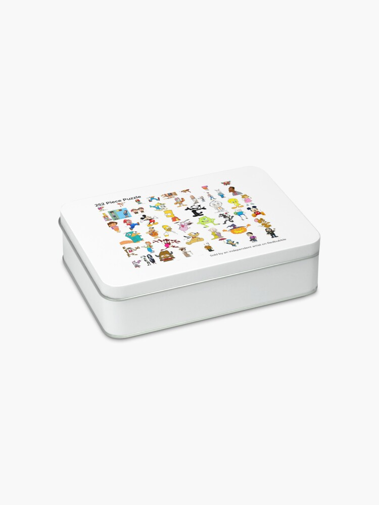 Alternate view of Cartoon Characters Jigsaw Puzzle