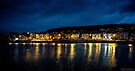Across the Sea Pool at Night - Weston-Super-Mare by MarcW