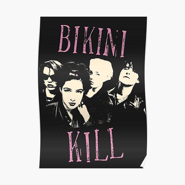 Bikini Kill Riot Grrrl Poster