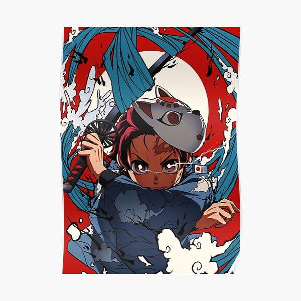Tueur de démons Kimetsu No Yaiba 54 | Anime Poster