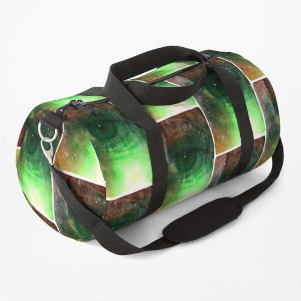 Green Eye, Third Eye Duffle Bag