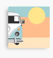 The Van of the Future Canvas Print