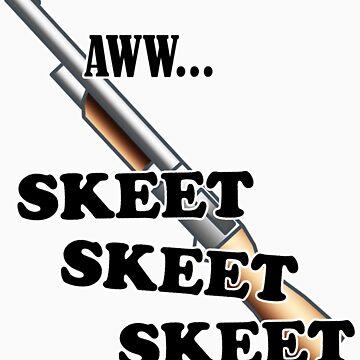 Aww Skeet Skeet Skeet by HardShirts