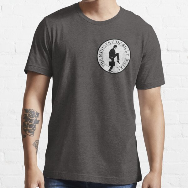 Ministry Of Silly Walks (corner distressed) Essential T-Shirt