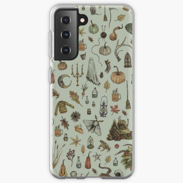 Green Cozy Crone Samsung Galaxy Soft Case