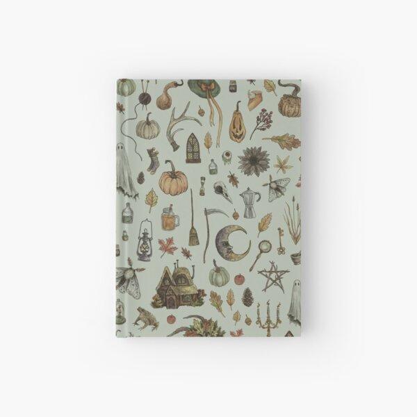 Green Cozy Crone Hardcover Journal