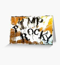 PIMP ROCKY logo - Paul Ryan & Niklas Henke Greeting Card