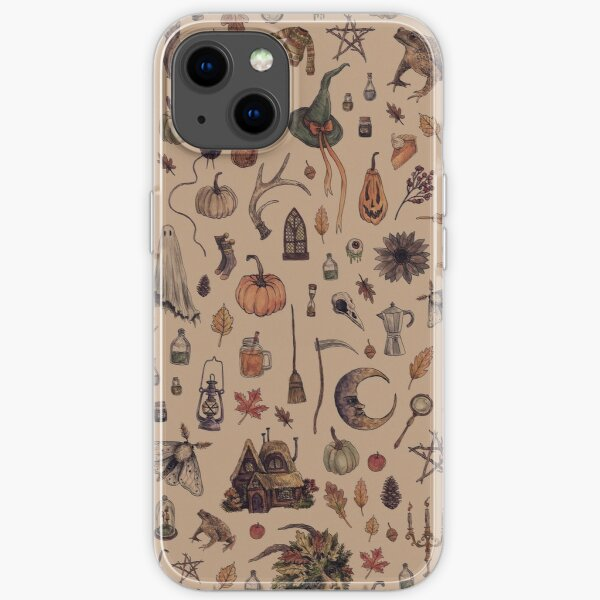 Rustic Brown Cozy Crone iPhone Soft Case