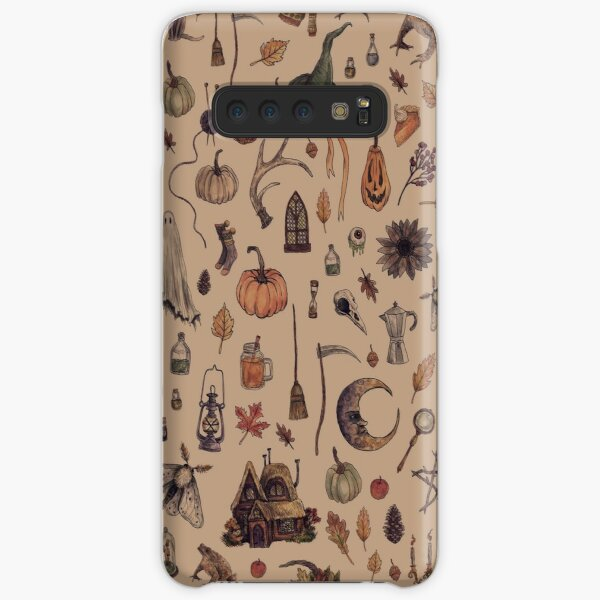Rustic Brown Cozy Crone Samsung Galaxy Snap Case