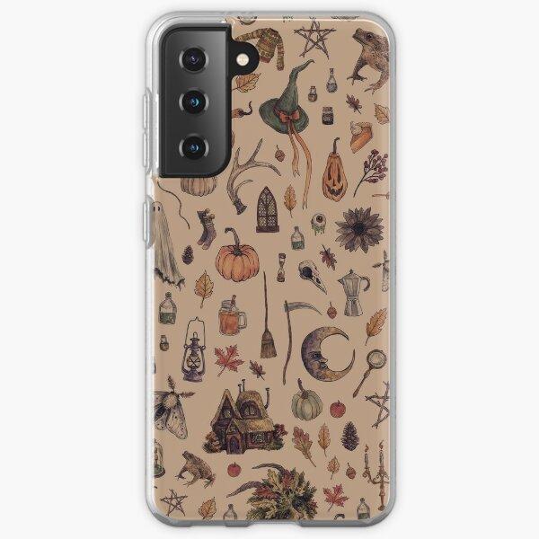 Rustic Brown Cozy Crone Samsung Galaxy Soft Case