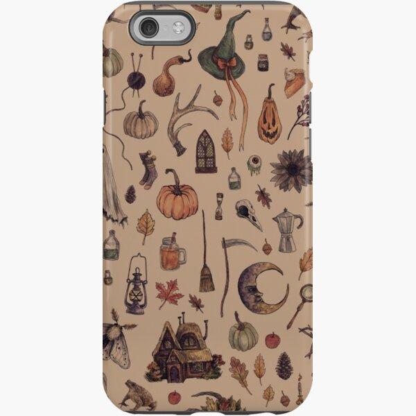 Rustic Brown Cozy Crone iPhone Tough Case
