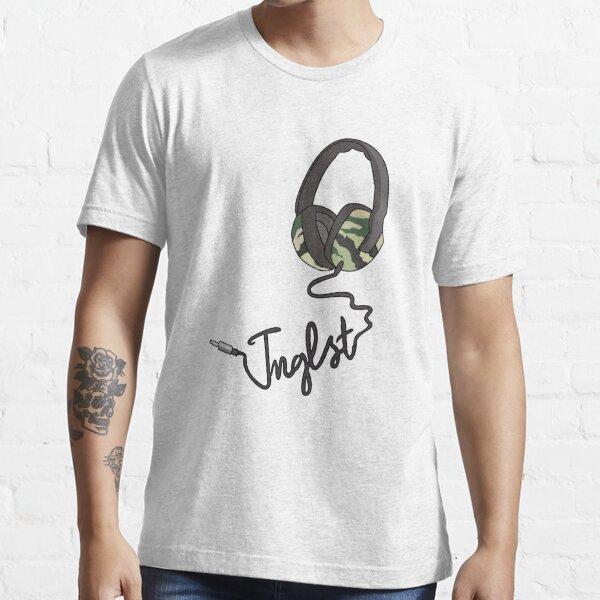 Junglist DnB Drum and Bass Jungle Music Headphones Design Essential T-Shirt