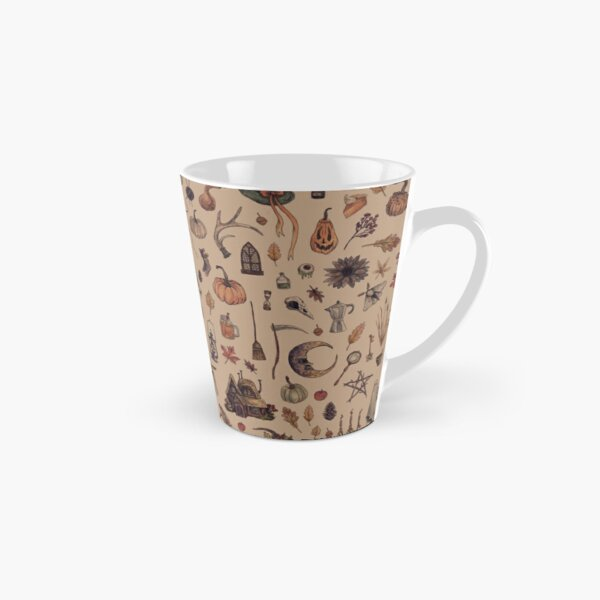 Rustic Brown Cozy Crone Tall Mug