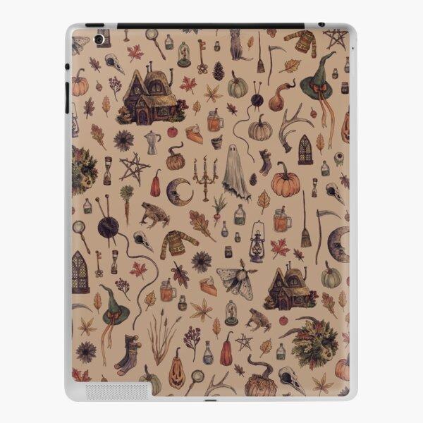 Rustic Brown Cozy Crone iPad Skin