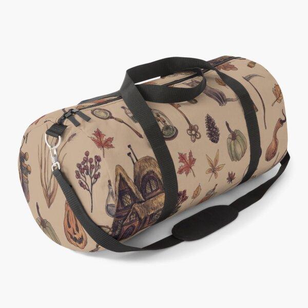 Rustic Brown Cozy Crone Duffle Bag